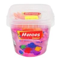 Кинетический песок, розовый, 1000 г E Heroes. 39439