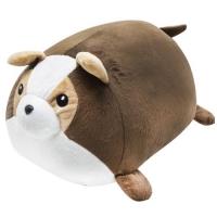 """Плюшевая игрушка-валик """"Собачка"""", коричневый JIADIHONG. 38696"""