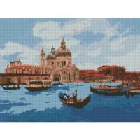 """Алмазная мозаика """"Полдень в Венеции"""" АМ Идейка. 39459"""