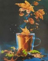 """Картина по номерам """"Чайное настроение"""" Riviera Blanca. 35336"""