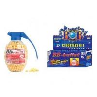 Пульки в бутылочке-гранате, 6 мм, 1000 штук, 12 в упаковке JIADIHONG. 36900