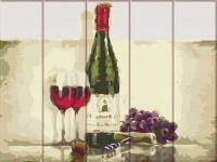 "Картина по номерам на дереве ""Вино для двоих"" Art Story. 35366"