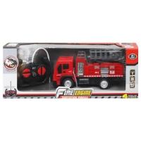 Пожарная машина на радиоуправлении, с подъемником 998-17 JIADIHONG. 37501