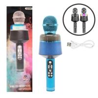 Микрофон-караоке, синий JIADIHONG. 36085
