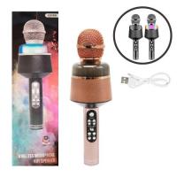 Микрофон-караоке, розовый JIADIHONG. 36084