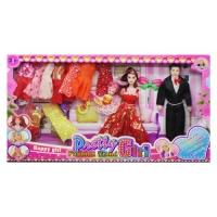 """Кукольный набор """"Pretty girl"""" в красном JIADIHONG. 38471"""