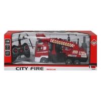 Пожарная машина на радиоуправлении, с подъемником JIADIHONG. 37514