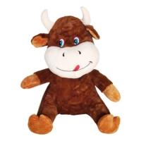"""Плюшевая игрушка """"Бычок"""", 60 см, коричневый A-13 JIADIHONG. 38669"""