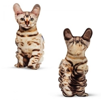 """Игрушка-подушка """"Бенгальская кошка"""" Surpriziki. 40358"""