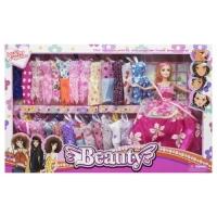 """Кукла с гардеробом """"Beauty"""" JIADIHONG. 38427"""
