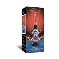 """Свечка """"Клоун"""", с разноцветными каплями воска JIADIHONG. 40349"""