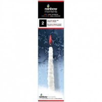 """Свеча """"Сосулька"""", 25 см, красный GLOS. 40343"""