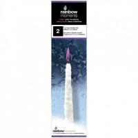 """Свеча """"Сосулька"""", 25 см, фиолетовый GLOS. 40345"""