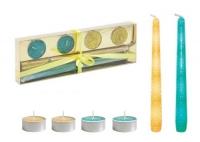 Подарочный набор свечей, зеленый JIADIHONG. 40336