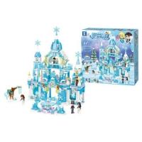 """Конструктор """"Замок Frozen"""", 801 дет JIADIHONG. 36665"""