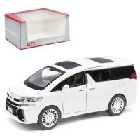 "Машинка ""Toyota Alphard"", белый Kinsmart. 37328"