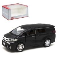 """Машинка """"Toyota Alphard"""", черный Kinsmart. 37329"""