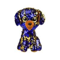 """Мягкая игрушка глазастик """"Голубой щенок"""" JIADIHONG. 38637"""