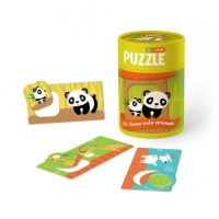 """Пазлы-игра """"Зоология для малышей: Хвостатые друзья"""" Додо. 39277"""