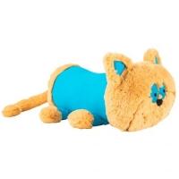 "Плюшевая подушка-валик ""Котик"" TIGRES. 40377"