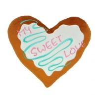 """Подушка-сердечко """"My sweet love"""" TIGRES. 40427"""