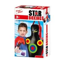 """Боксёрский набор со звуковыми эффектами """"Boxing Star"""" KingSport. 36089"""