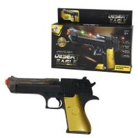 """Пистолет со световыми и звуковыми эффектами """"Desert Eagle"""" HAO SHUN YUAN TOYS. 36894"""