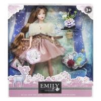"""Кукла """"Emily Fashion Classics"""", с цветами JIADIHONG. 38360"""