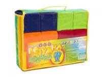 Кубики мягкие, 7 х 7 см (12 штук) Розумна іграшка. 39921