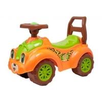 Машинка-каталка для прогулок (оранжевая) Технок. 40300