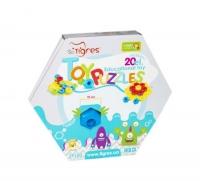 Развивающая игрушка «Снежинка», 20 эл Wader. 39466
