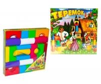 "Кубики ""Теремок"" (24 элемента) M-toys. 39917"