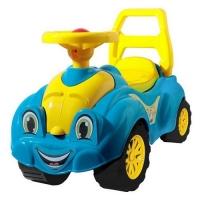 Машинка-каталка для прогулок (голубая) Технок. 40298
