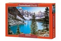 "Пазлы ""Голубое озеро, Jewel of the rockies, Canada"", 1000 эл Castorland. 39278"