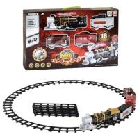 Железная дорога, свет, звук, 18 элементов TRAIN BABY. 36845