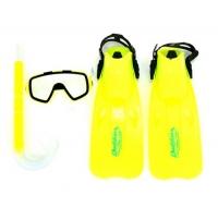 Набор для плавания, размер:33-35, салатовый DanYong. 36104