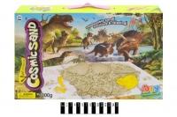 """Кинетический песок """"Cosmic Sand: Динозавр"""", с формочками DIY. 39422"""