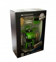 "Трансформер-машина ""Hurricane Flying"" (зеленый) с аксессуарами JINAO. 38114"