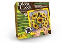 """Набор для творчества """"Часы Decor Clock. Подсолнухи"""" Dankotoys. 39678"""