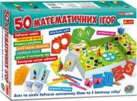 """Развивающая игра """"Большой набор: 50 математических игр"""", укр Ранок. 35902"""