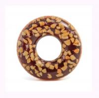 """Круг надувной """"Шоколадный пончик"""" (114 см) Intex. 36039"""
