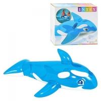 """Детский надувной плотик для катания """"Дельфинчик"""" Intex. 36046"""