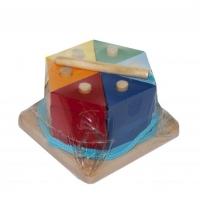 """Пирамидка """"Цветной тортик"""" Руди. 39940"""