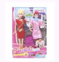 "Кукла-стюардесса ""Kaibibi"" JIADIHONG. 38463"