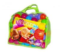 """Шарики """"60 мм"""" в сумке (100 шт) M-toys. 39968"""