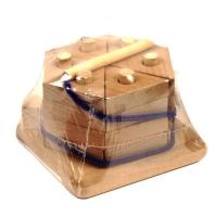 """Пирамидка """"Тортик"""", неокрашенная Руди. 39939"""