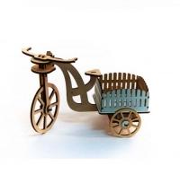 Велосипед деревянный BigEcoToys. 37537