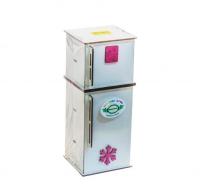 Холодильник деревянный BigEcoToys. 39979