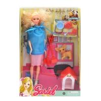 "Кукла с собачкой ""Sariel"" JIADIHONG. 38448"