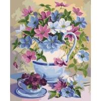 """Картина по номерам """"Цветочная поэзия"""" Идейка. 35331"""